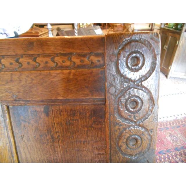 Antique English Tudor/Stuart Oak Chair - Image 6 of 6