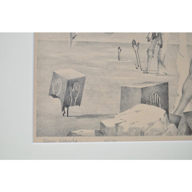 John B. Lear Surreal Male Lithograph C.1940s For Sale In San Francisco - Image 6 of 8