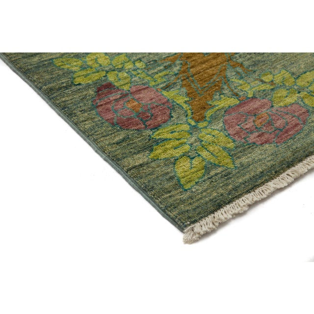 """Arts & Crafts Hand-Knotted Rug - 9'1"""" x 11'7"""" - Image 2 of 3"""