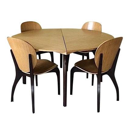 Sculptural Italian Dining Set - Image 1 of 8