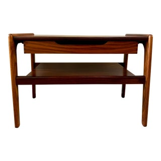 1960s Kai Kristiansen Rosewood Side Table For Sale