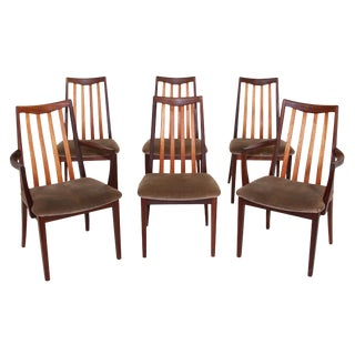 Set of 6 Mid Century Teak Chairs by G Plan For Sale