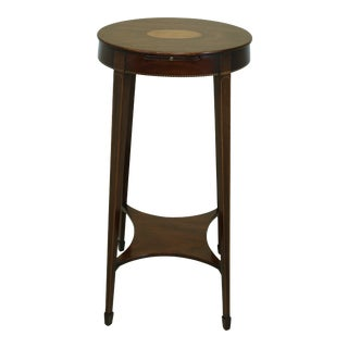Kindel Winterthur Collection Mahogany Stand W. Inlay For Sale