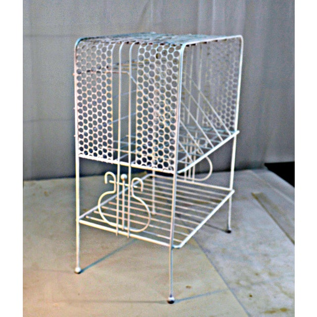 1960s Vintage Metal Music or Magazine Stand For Sale In Miami - Image 6 of 9