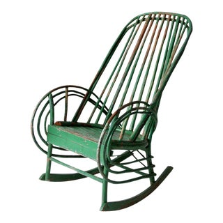 Antique Twig Rocking Chair For Sale