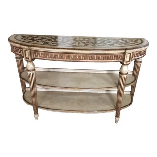 Vanguard Three-Tiered Sofa Console Table