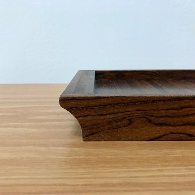 Don Shoemaker Don Shoemaker Senal Wood Tray For Sale - Image 4 of 7