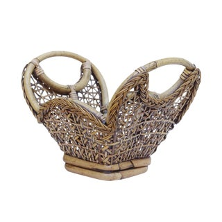 Bamboo, Wicker & Cane Basket