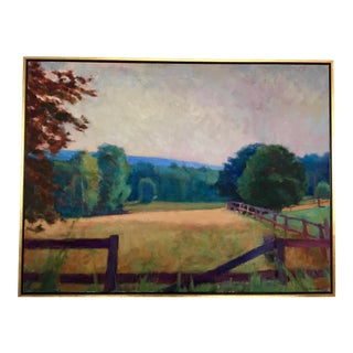 Larry Horowitz Cornish Pastures Painting