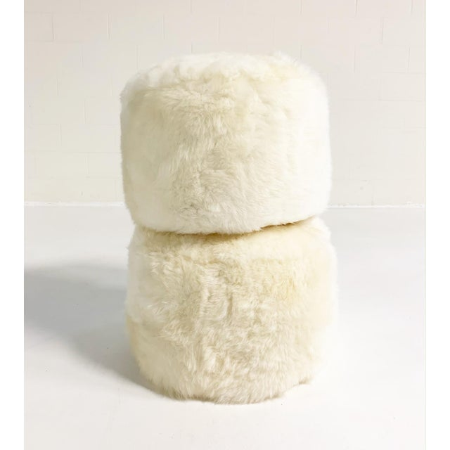 Our luxurious sheepskin pouf ottomans are handcrafted from our beautiful Brazilian sheepskins. The most beautiful...