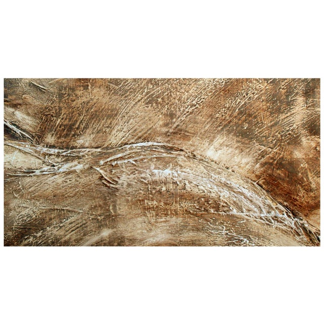 Abstract Painting of Rolling Hills - Image 2 of 2