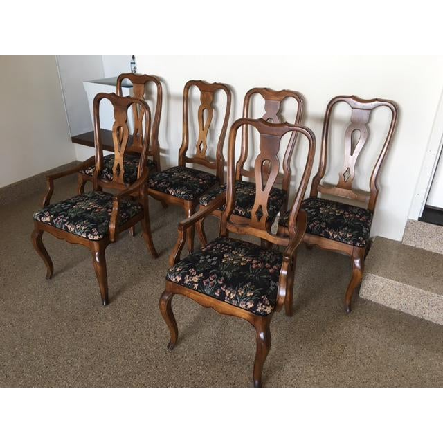 Ethan Allen Country French Dining Set - Image 11 of 11
