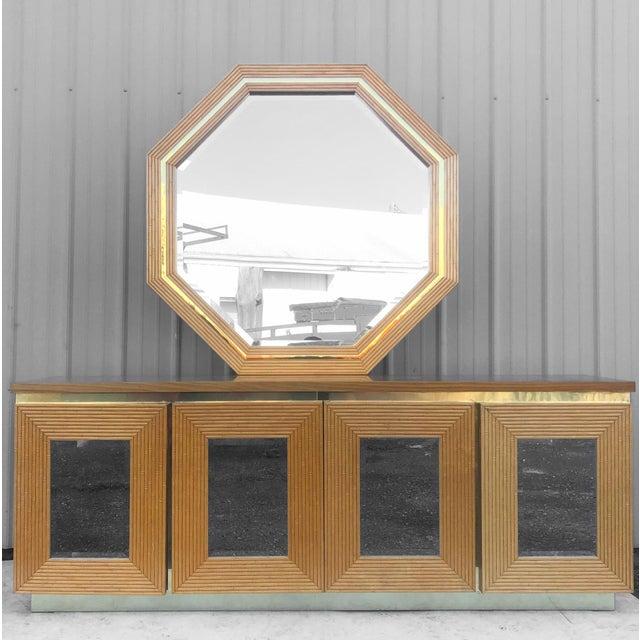 Vintage Boho Bedroom Dresser With Mirror For Sale - Image 13 of 13
