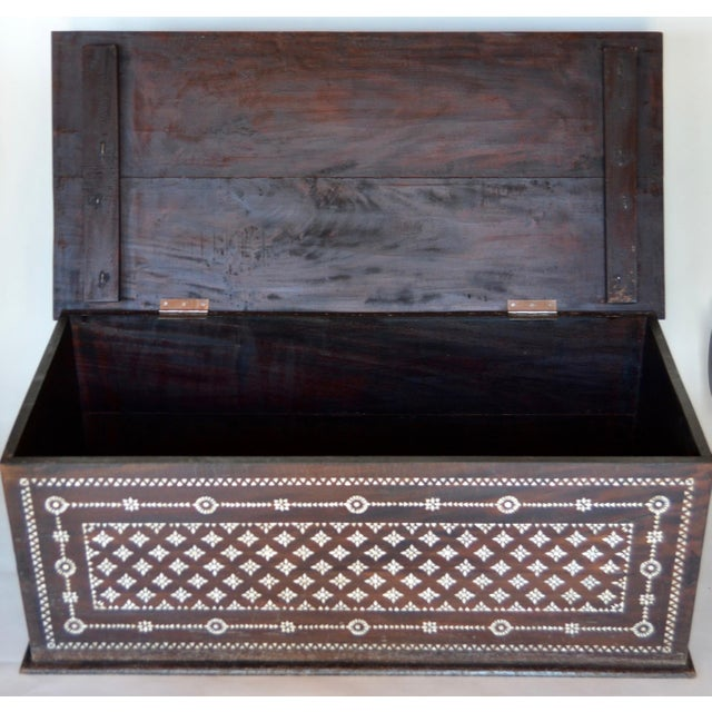 Turkish Mother of Pearl Inlaid Chest - Image 7 of 9