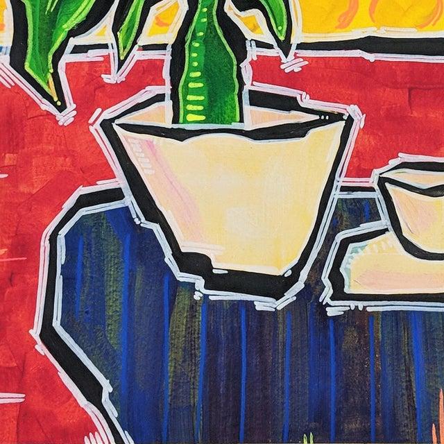 """No Surprises"" Original Artwork by Jonjo Elliott For Sale - Image 4 of 6"