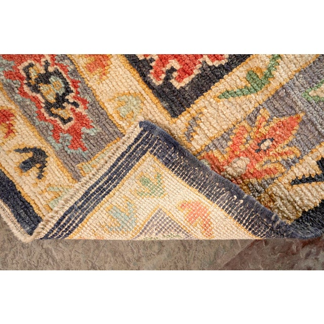"Modern Turkish 'Miquel' Oushak Rug- 5'7"" x 7' 6"" For Sale In Birmingham - Image 6 of 9"