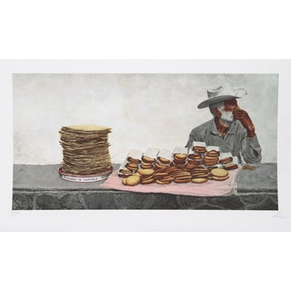 Vic Herman, Eating Up the Profits, Lithograph For Sale