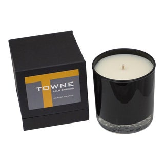Desert Santal Towne Palm Springs Candle