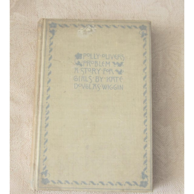 """1896 Antique ''Polly Oliver's Problem"""" a Story for Girls Book For Sale - Image 4 of 4"""