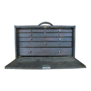 Vintage 1950s Kennedy Mechanics Toolbox For Sale