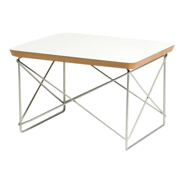 Charles and Ray Eames LTR Table by Herman Miller For Sale