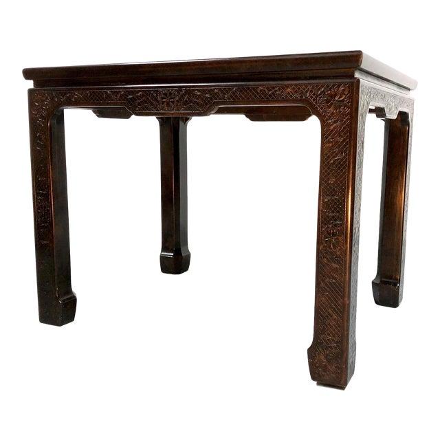 Mario Buatta for John Widdicomb Chinoiserie Coffee Table For Sale