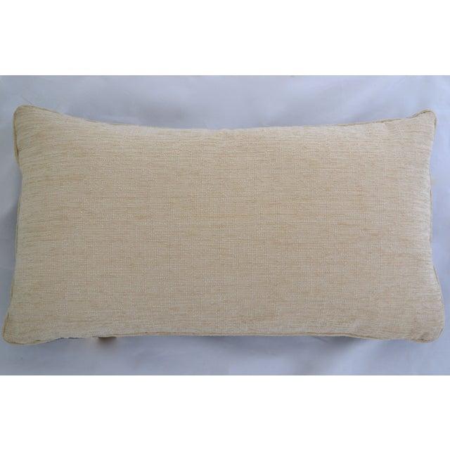 """Gray Velvet Custom Pillow - 22"""" x 12"""" - Image 6 of 6"""