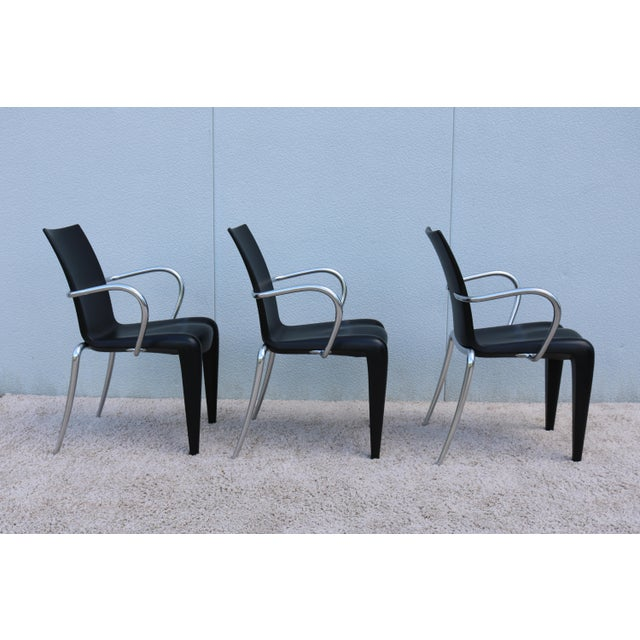 1997 Vintage Philippe Starck for Vitra Louis 20 Armchair For Sale In New York - Image 6 of 13