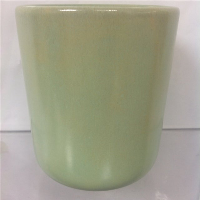Pastel green La Solana pottery vase. A note from the seller: We ALWAYS accept reasonable offers. Before it's gone...