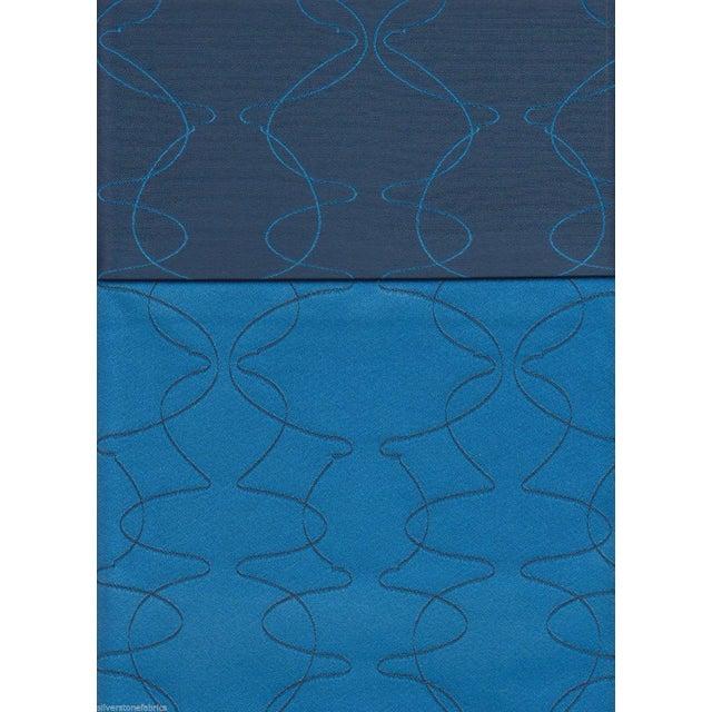 Luna Textiles Reversible Mezzanine in Mermaid Blue - 18 Yds - Image 1 of 3