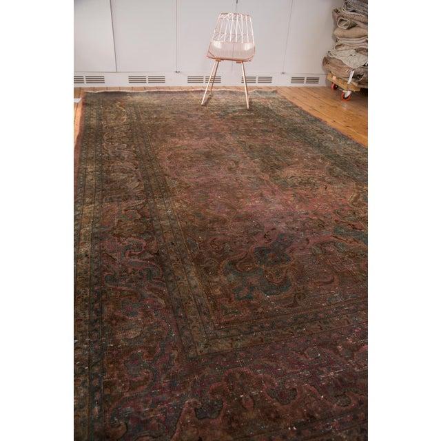 """Vintage Meshed Carpet - 7'3"""" x 12'6"""" - Image 4 of 9"""