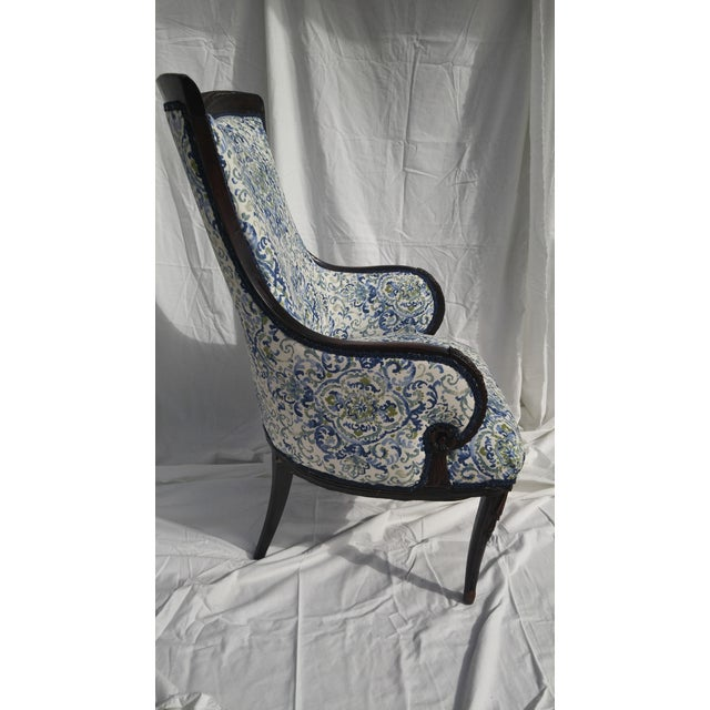 Transitional Antique Wooden Arm Chair - Image 4 of 11 - Transitional Antique Wooden Arm Chair Chairish