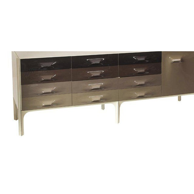 Large Raymond Loewy DF-2000 Credenza or Dresser for Doubinsky Freres - Image 2 of 2