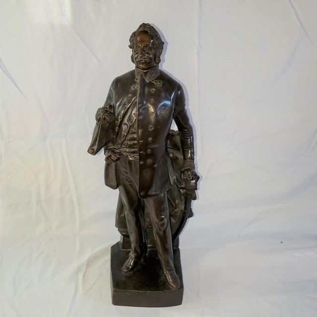 Franz Hogler, German Sculptor, Bronze Statue, Signed 1851 For Sale - Image 10 of 10