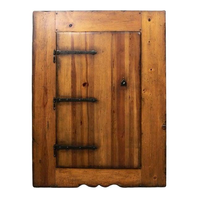 Monumental Ralph Lauren for Henredon Pine Cabinet For Sale