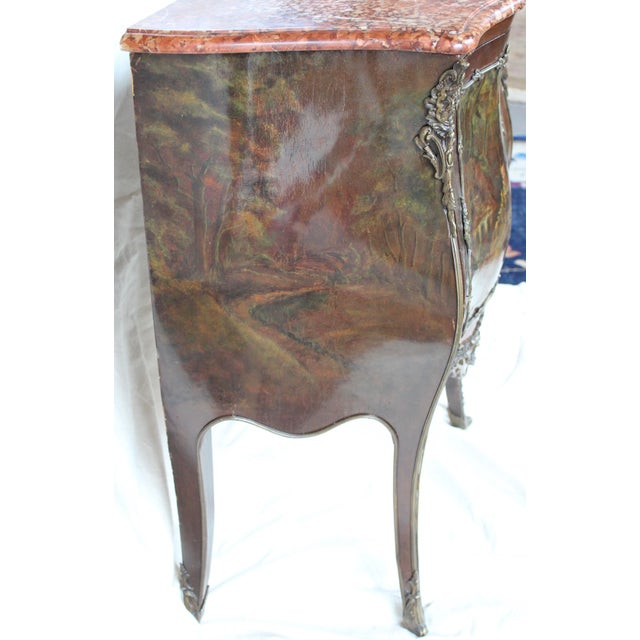 """Louis XV Style """"Vernis Martin"""" Cabinet - Image 6 of 10"""