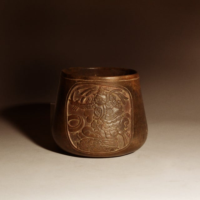 15th Century & Earlier Mayan Terracotta Bowl For Sale - Image 5 of 5