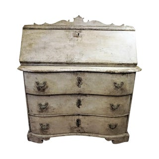 Early 19th Century Gustavian Drop Leaf Desk For Sale