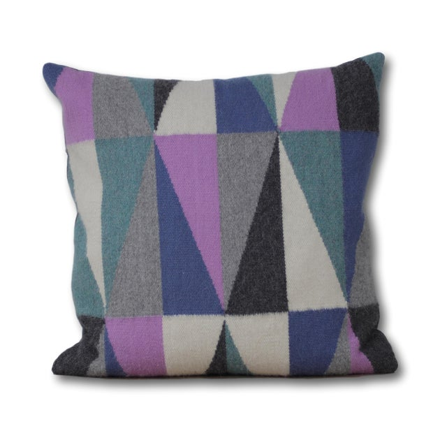 Mid-Century Modern 100% Baby Alpaca Harmoni Pillow For Sale - Image 3 of 5