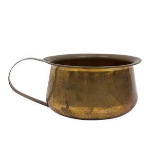 Antique Copper Cooking Pot