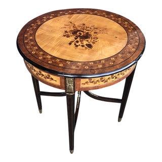 20th Century Vintage Parisian Side Table For Sale