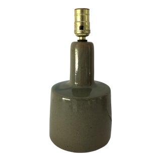 Midcentury Signed Martz Ceramic/Stoneware Table Lamp For Sale
