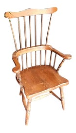 Image of Brown Windsor Chairs