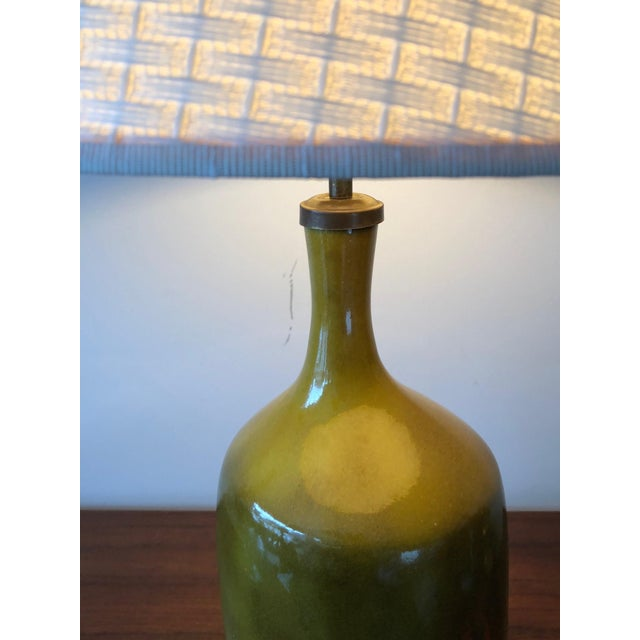 1960s 1960s Vintage Jacques & Dani Ruelland Ceramic Lamp For Sale - Image 5 of 12