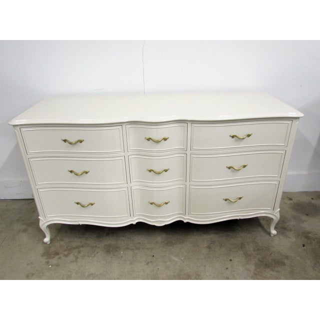 Drexel French Lacquered Chest of Drawers - Image 2 of 10