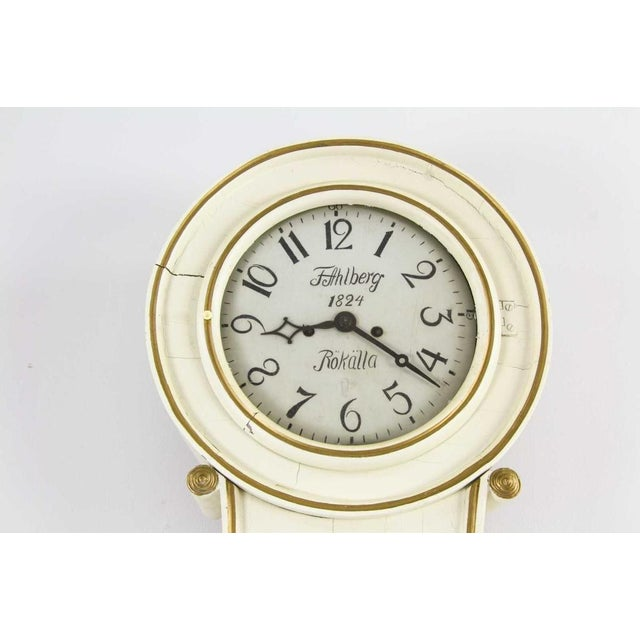 Antique Swedish Mora Clock - Image 2 of 3