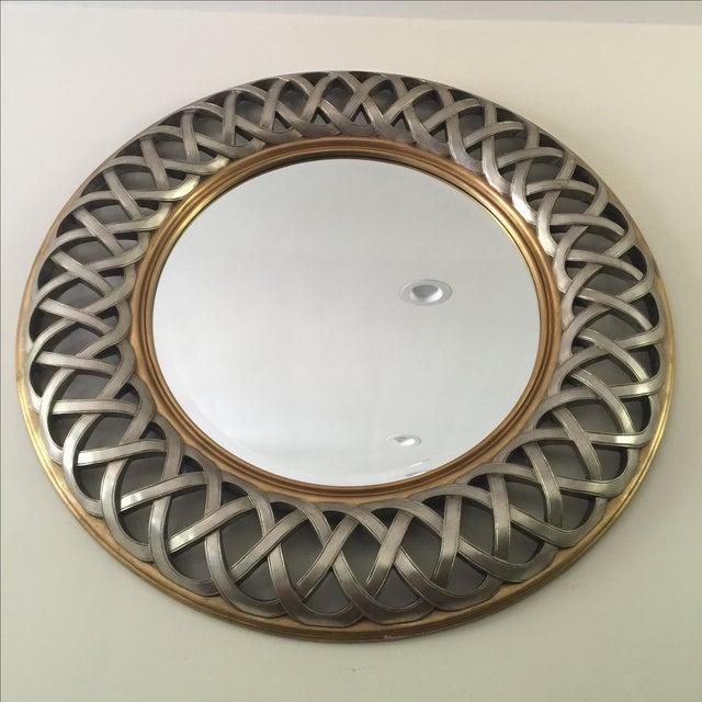 Chinese Round Decorative Mirror - Image 2 of 8