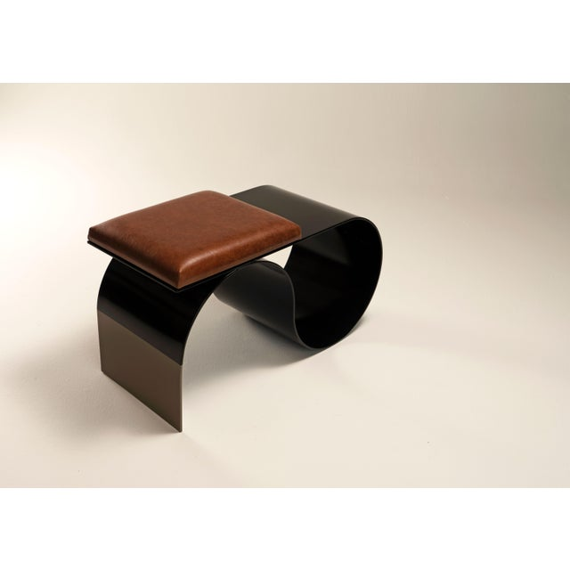 Part of the Symphony Collection - Limited Edition, the Sia table can also be fabricated as a bench with the cushion...