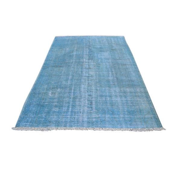 Turkish Oushak Blue Overdye Rug - 5′6″ × 7′10″ - Image 1 of 5