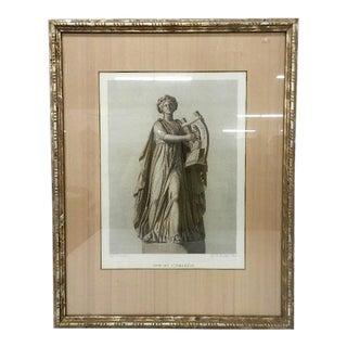 Framed Print Apollon Citharede